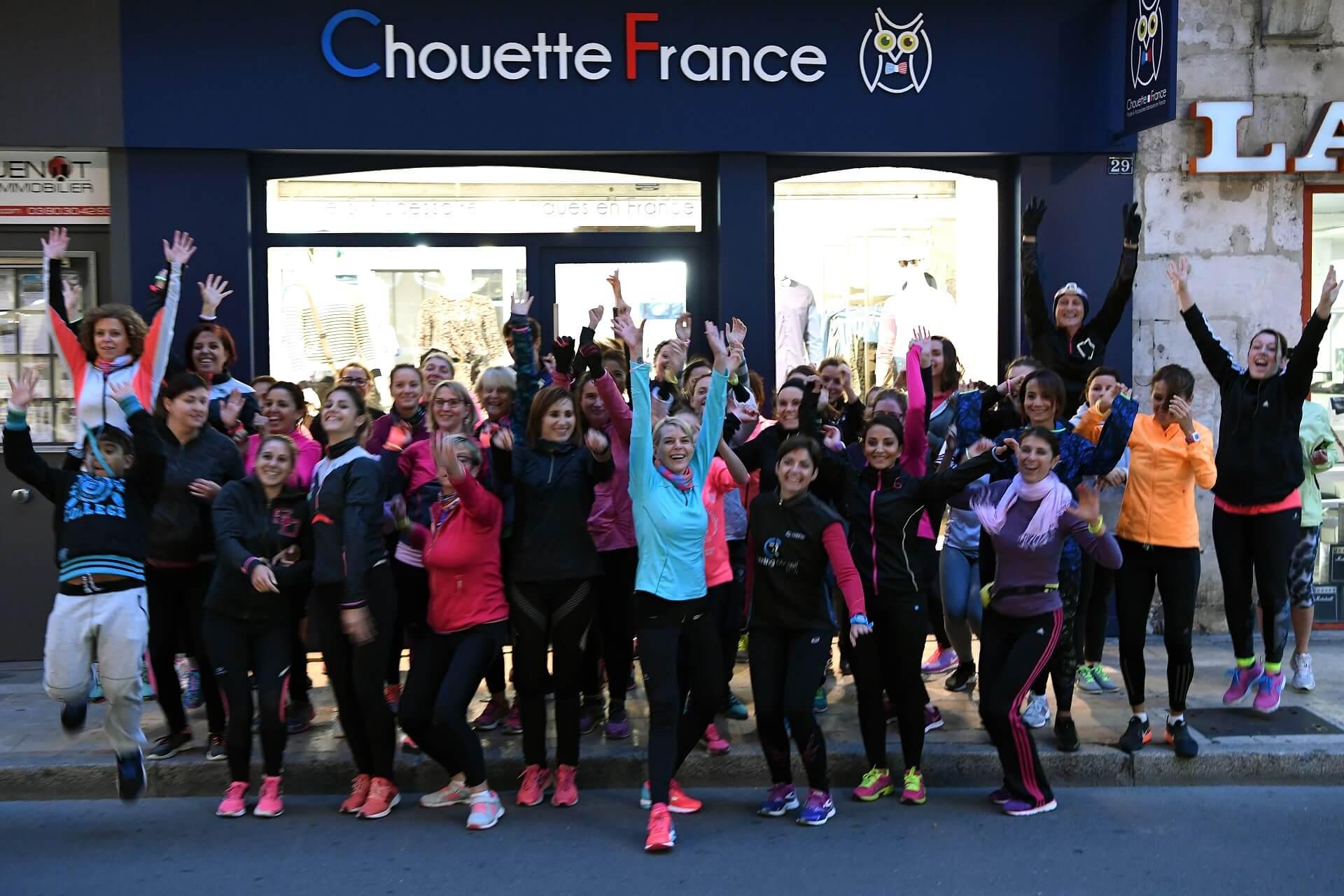 Les «Girls Run» partent de Chouette France