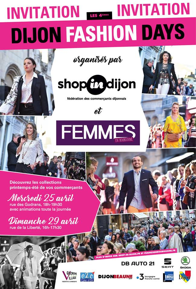 Dijon Fashion Days Printemps 2018