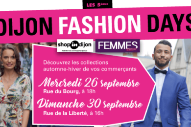 Dijon Fashion Days Automne 2018