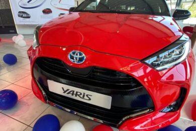 Lancement nouvelle Toyota Yaris 4ème génération Made in France